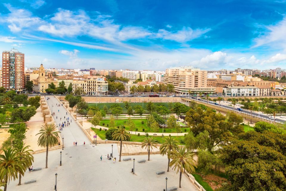 Les Jardins De La Turia Community Of Valencia Spain