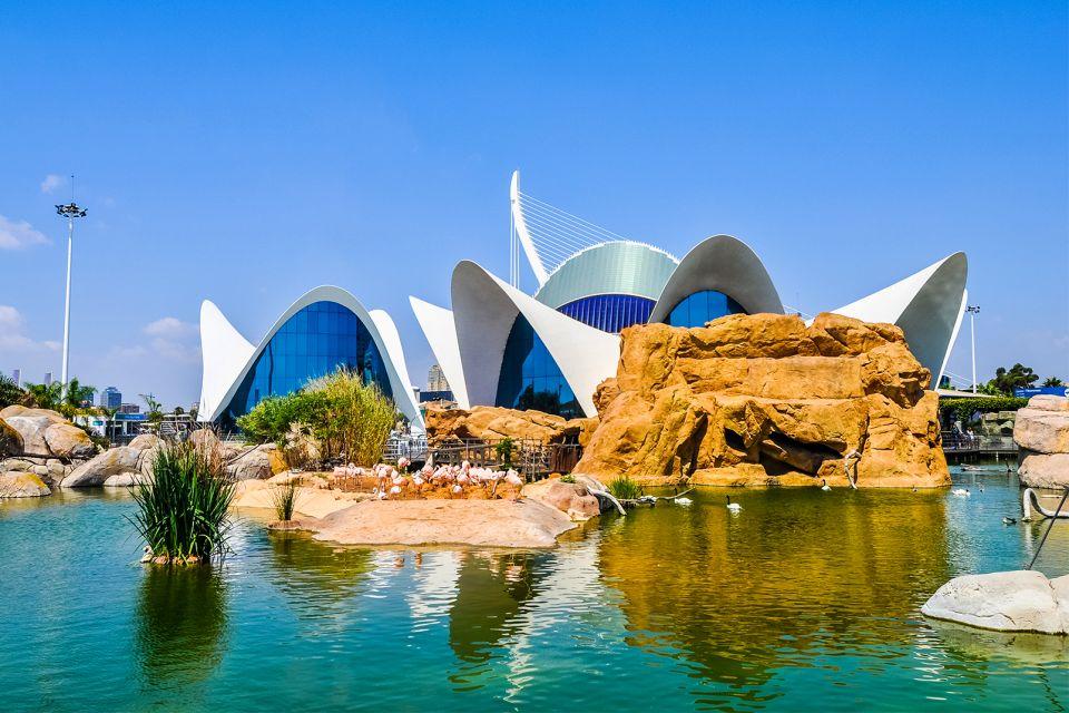 L'Oceanogràfic, L'Océanographic, Die Fauna und Flora, Gemeinschaft Valencia