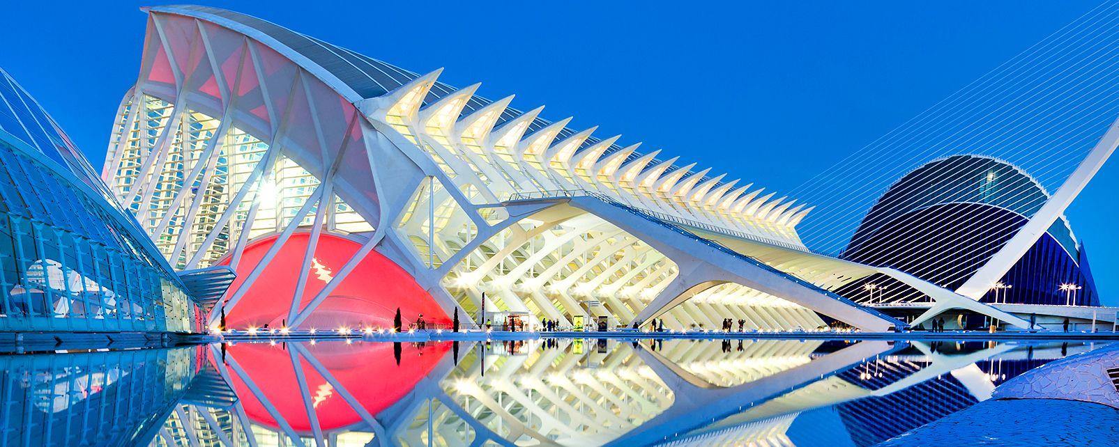 Le musée des Sciences Principe Felipe, Les arts et la culture, Communauté de Valence