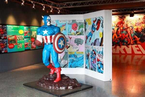 Capitán América, El Museo Nacional de las Ciencias Principe Felipe, Arte y cultura, Comunidad Valenciana