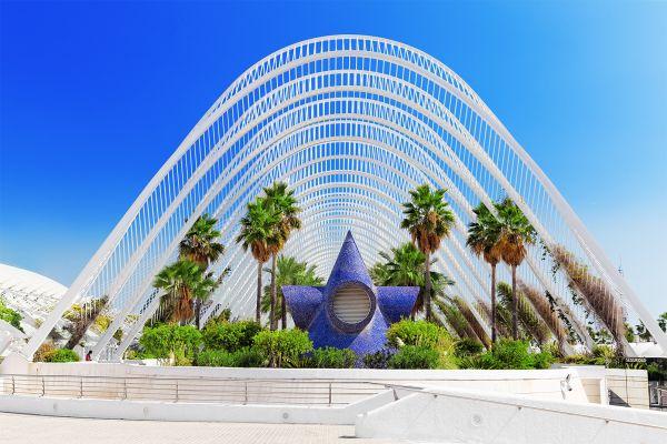Los jardines colgados, El Museo Nacional de las Ciencias Principe Felipe, Arte y cultura, Comunidad Valenciana