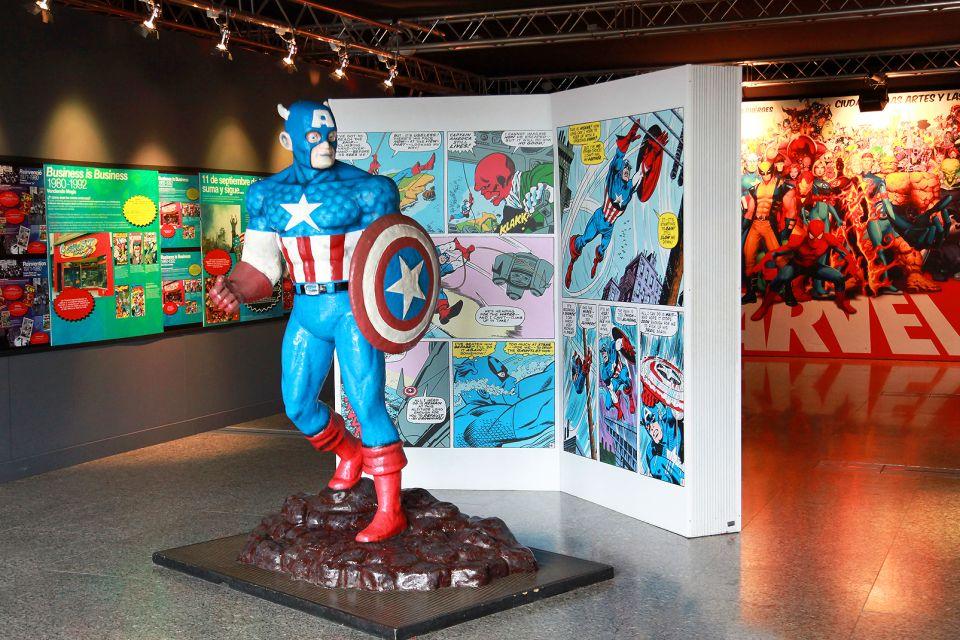 Kapitän Amerika, Le musée des Sciences Principe Felipe, Die Künste und die Kultur, Gemeinschaft Valencia