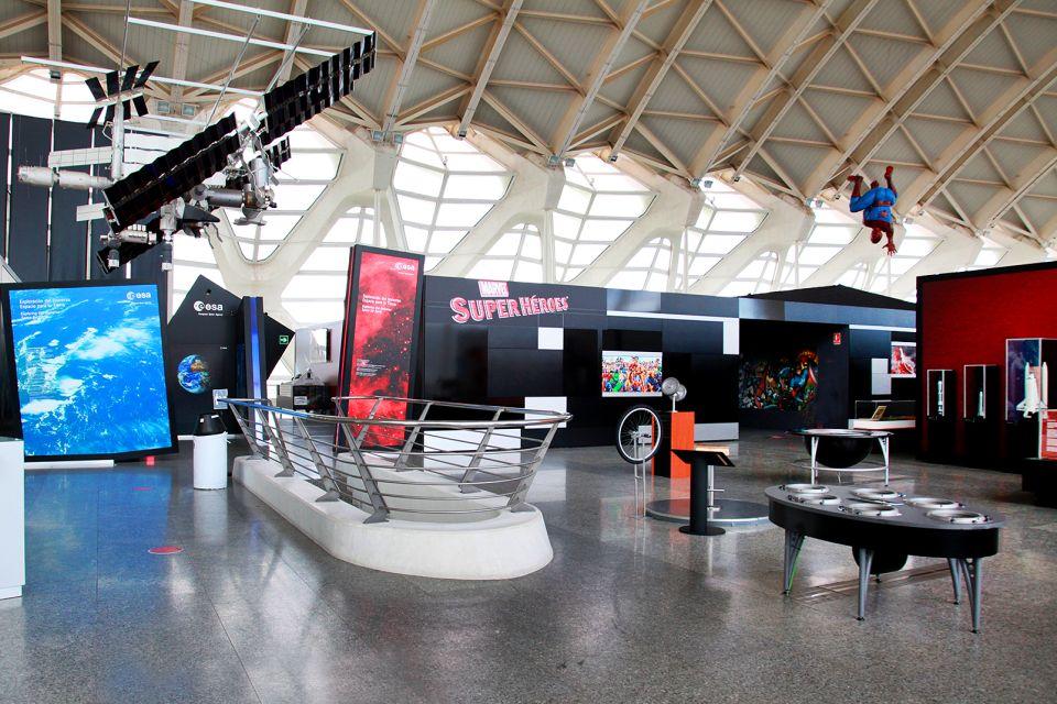 Spielerischer Einblick in die Wissenschaften, Le musée des Sciences Principe Felipe, Die Künste und die Kultur, Gemeinschaft Valencia