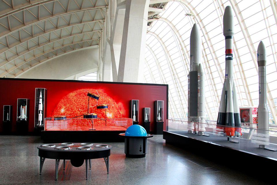 Interaktive Spiele, Le musée des Sciences Principe Felipe, Die Künste und die Kultur, Gemeinschaft Valencia
