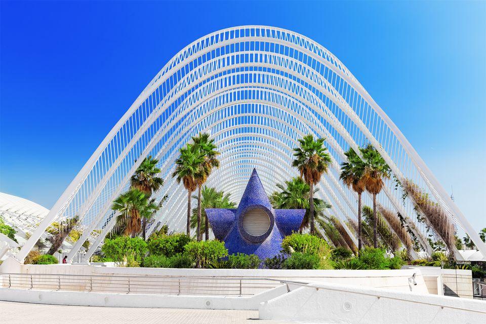 Die hängenden Gärten, Le musée des Sciences Principe Felipe, Die Künste und die Kultur, Gemeinschaft Valencia
