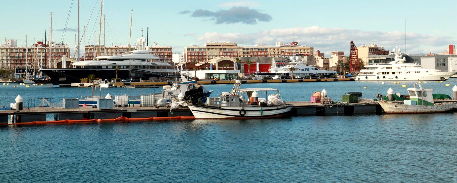 Marina Real Juan Carlos I, La marina Real Juan Carlos I, Die Landschaften und Aktivitäten, Gemeinschaft Valencia