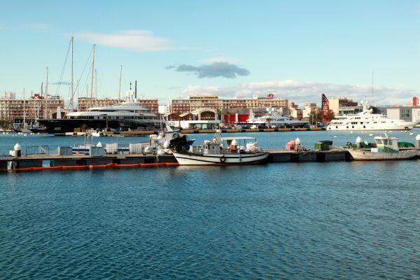 Les paysages et les activités, Valence, Espagne, communauté de valence, espagne, marina, mer, méditerranée, port