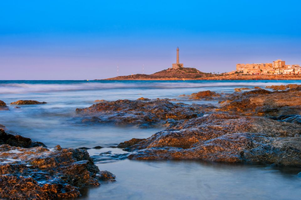 Les paysages, costa calida, côte, espagne, murcie, europe, méditerranée, mer