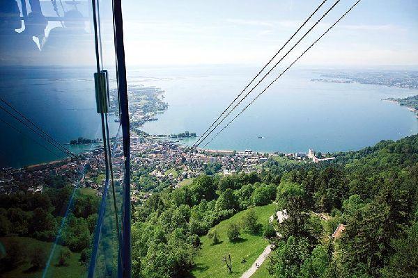 Le lac de Constance , Austria