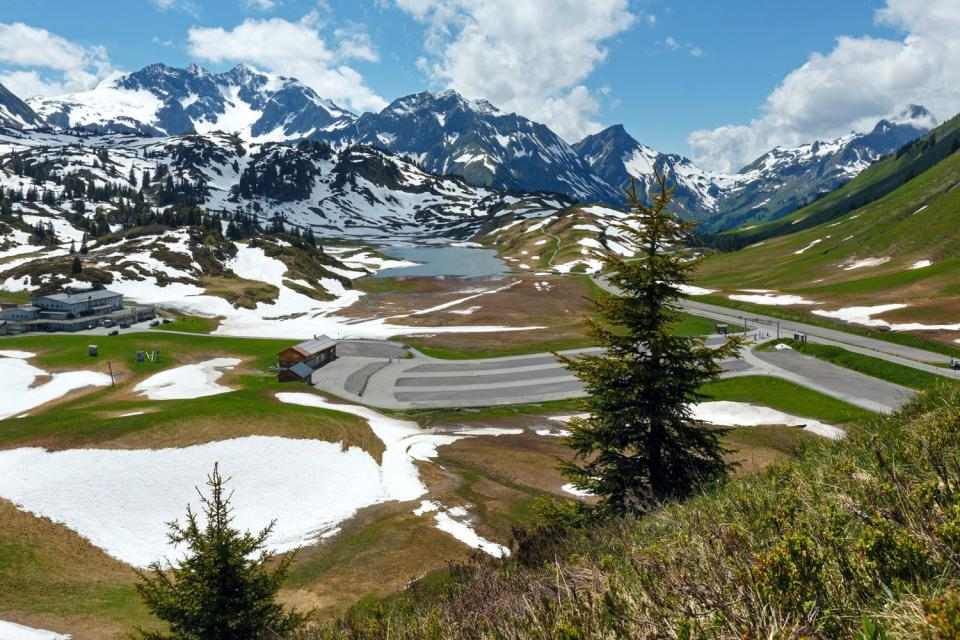 Le Vorarlberg , Autriche