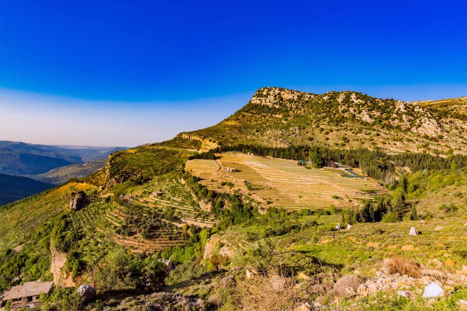 Les paysages, Jezzine, Liban, moyen-orient, montagne, mont-liban