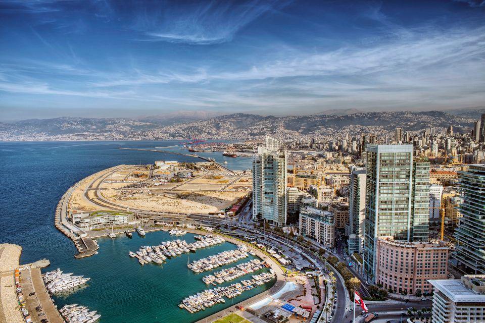 Les paysages, montagne, moyen, orient, liban, mont-liban, beyrouth