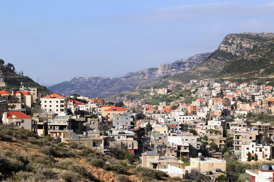 Jezzine, Le Mont Liban, Les paysages, Liban