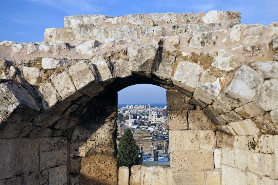 Le château des Croisés à Tripoli , Liban