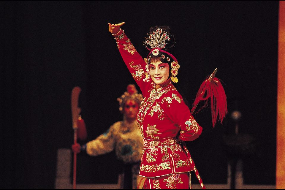 Le théâtre , La scène , Chine
