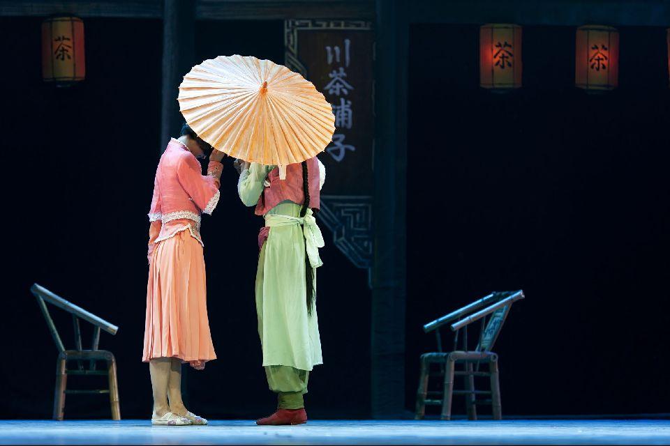 Le théâtre , Représentation théâtrale , Chine