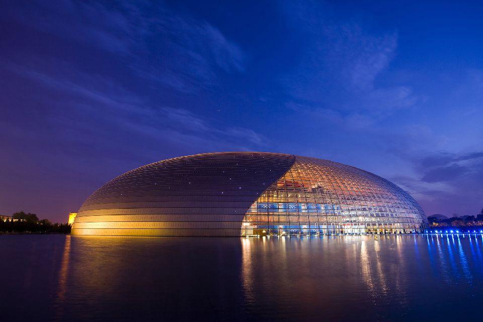 Le théâtre , Le théâtre national de Pékin , Chine