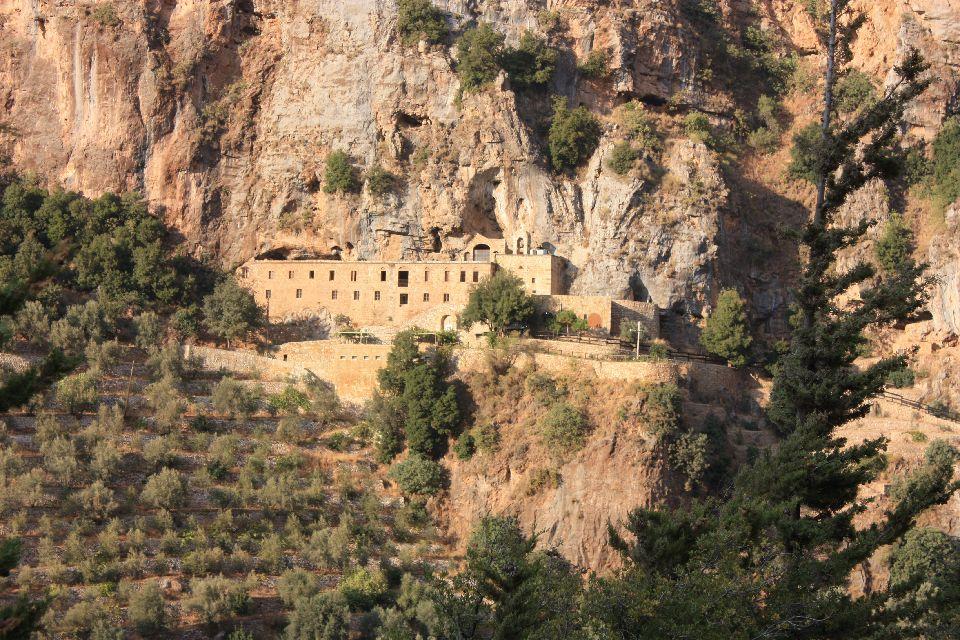 La Vallée Sainte de la Qadisha , Deir Mar Elisha , Liban