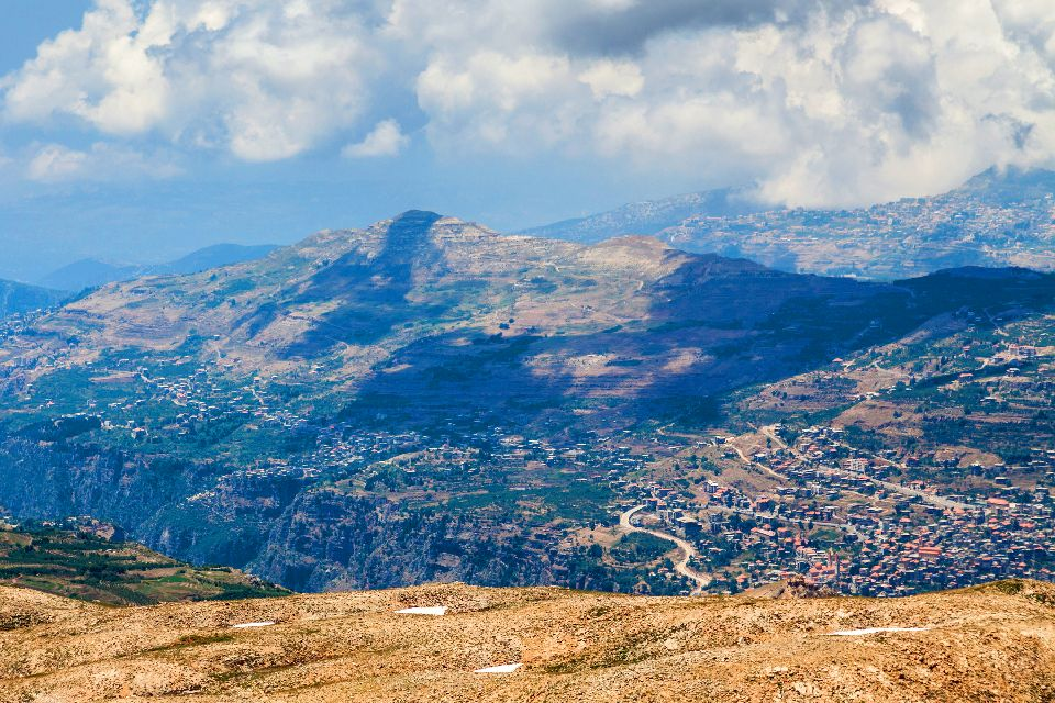 La Vallée Sainte de la Qadisha , Liban