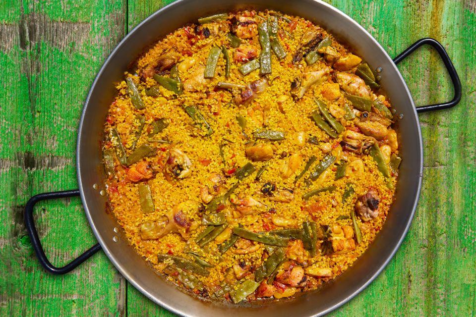 Valencianische Paella, La paella valencienne, Gastronomie, Gemeinschaft Valencia