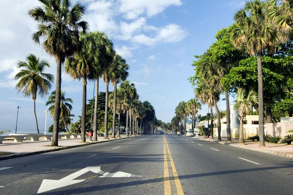 Le Malecon de Saint-Domingue , Avenue George Washington , République dominicaine
