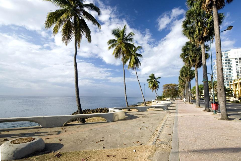 Le Malecon de Saint-Domingue , République dominicaine