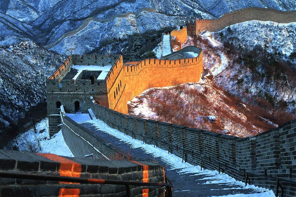 La Grande Muraille , La Grande Muraille l'hiver , Chine