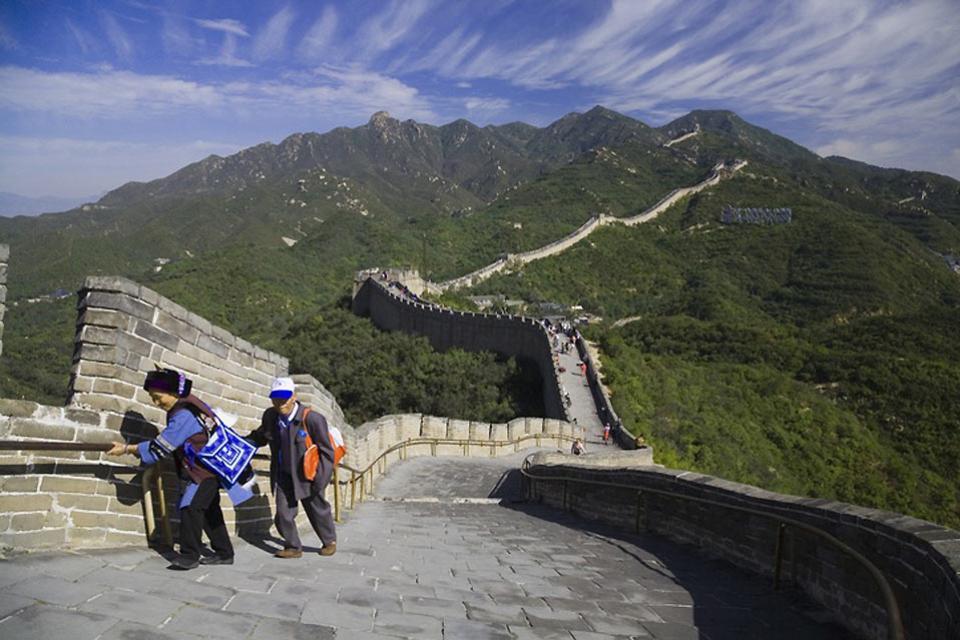 La Grande Muraille , La taille de la Grande Muraille , Chine