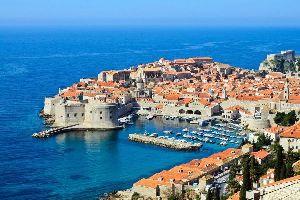 La péninsule de Lapad , Croatie