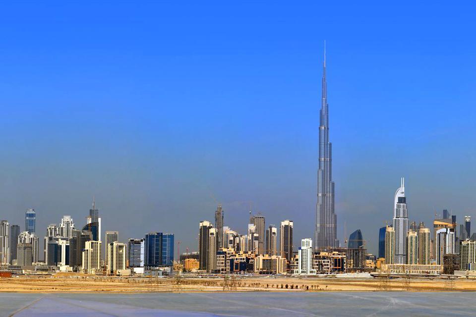 DUBAI- Tour Burj Khalifa , Burj Khalifa , Emirats Arabes Unis