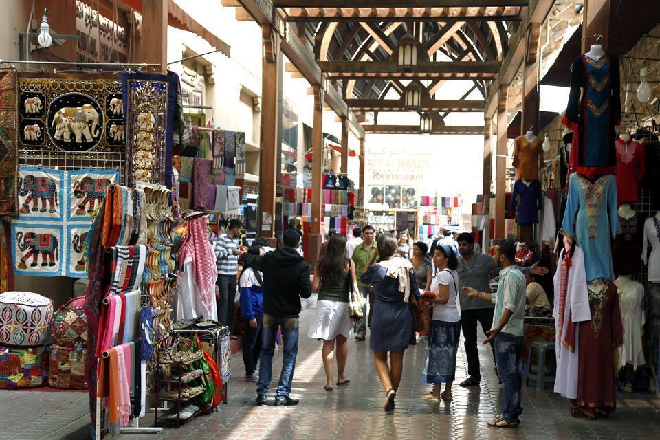 DUBAI- Les Souks , Emirats Arabes Unis