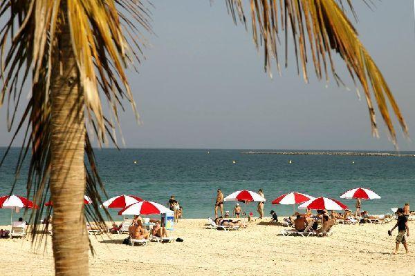 DUBAI- Les plages , Die Vereinigten Emirate