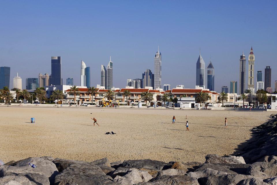DUBAI- Les plages , United Arab Emirates