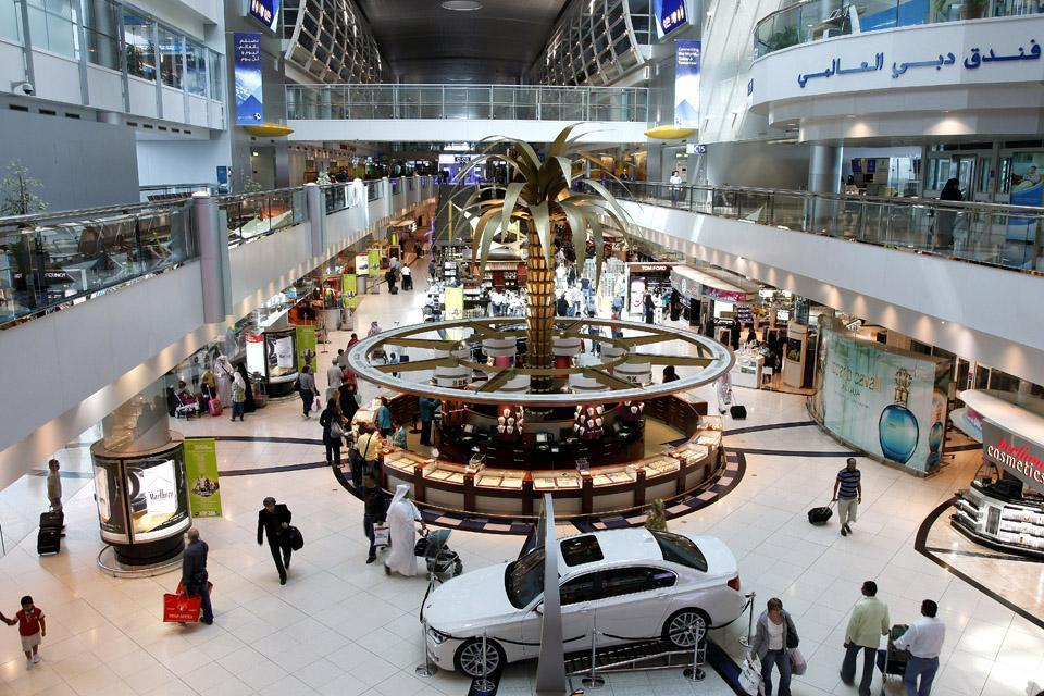 DUBAI- Les shopping malls , United Arab Emirates