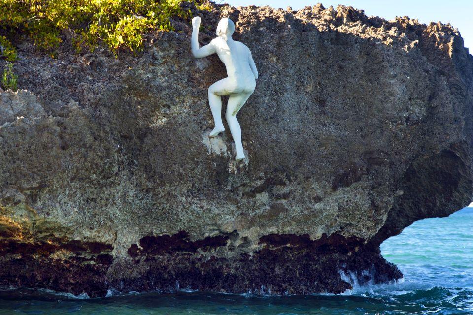 Les paysages, Lagune Gri-Gri République Dominicaine Caraïbes statue
