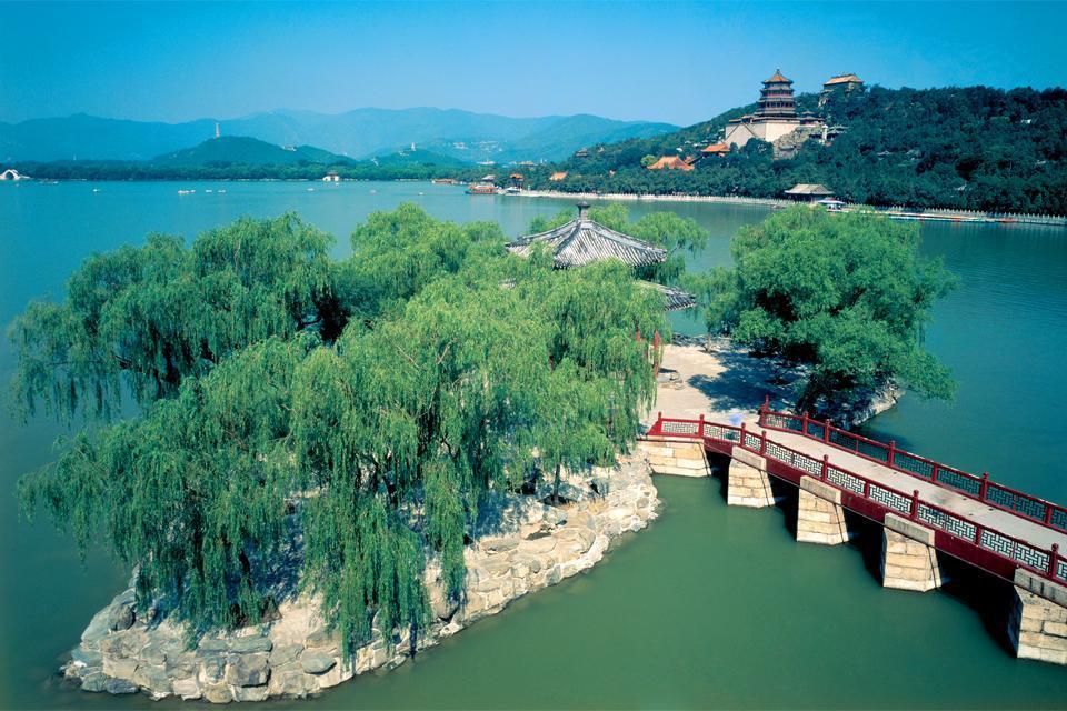 Le Palais d'Eté , Un lieu de vacances royal , Chine