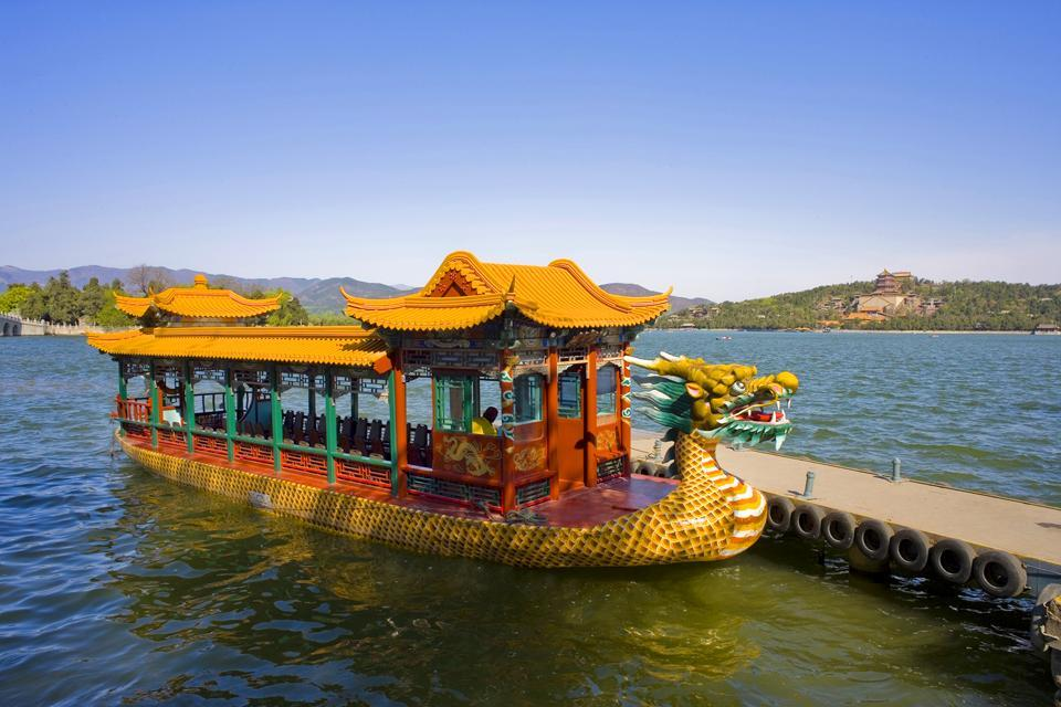 Le Palais d'Eté , Une croisière sur le lac du Palais , Chine