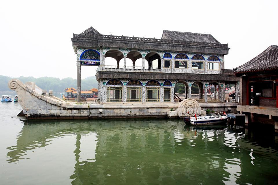 Le Palais d'Eté , Le bateau de la clarté et du confort , Chine