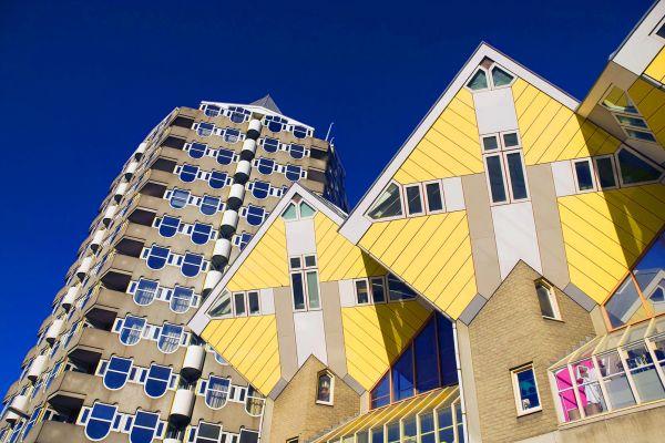 , Les maisons-cubes Rotterdam, Les arts et la culture, Rotterdam, Pays-Bas
