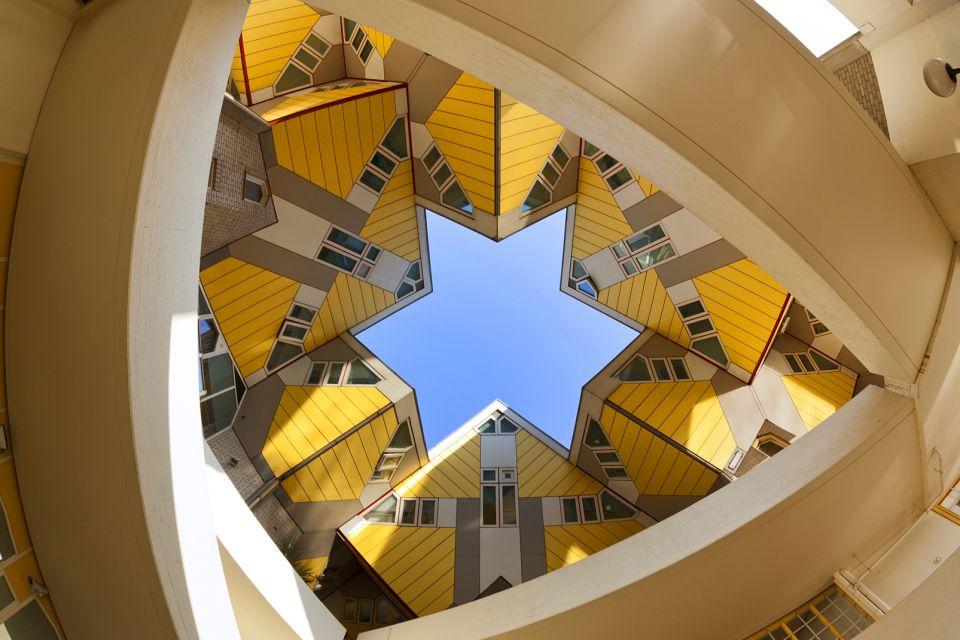 133275123, Les maisons-cubes Rotterdam, Les arts et la culture, Rotterdam, Pays-Bas