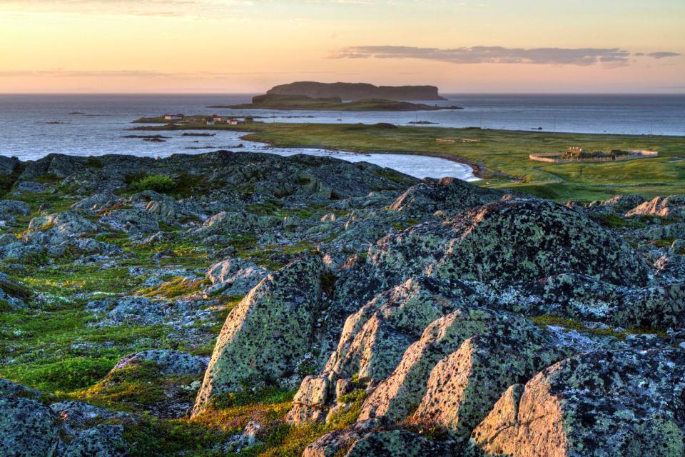La «Anse aux Meadows» , Canadá