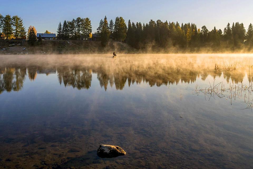 The Pechora-Ilych Nature Reserve , Russia
