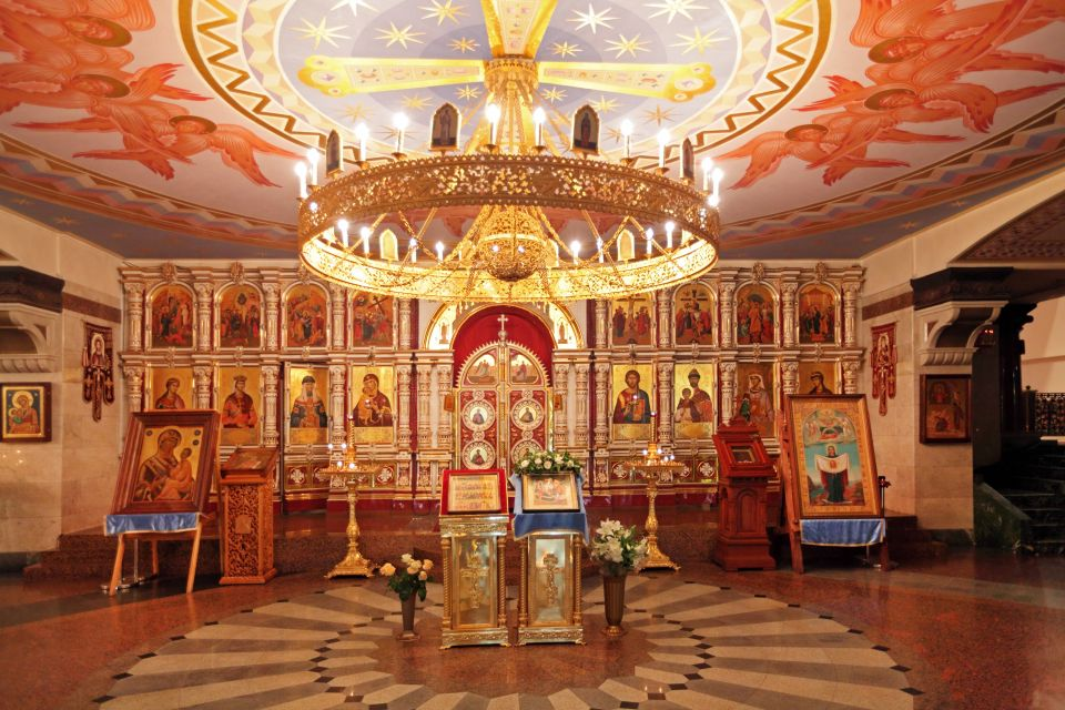 , The Church of the Savior on Spilled Blood, Monuments, Oural