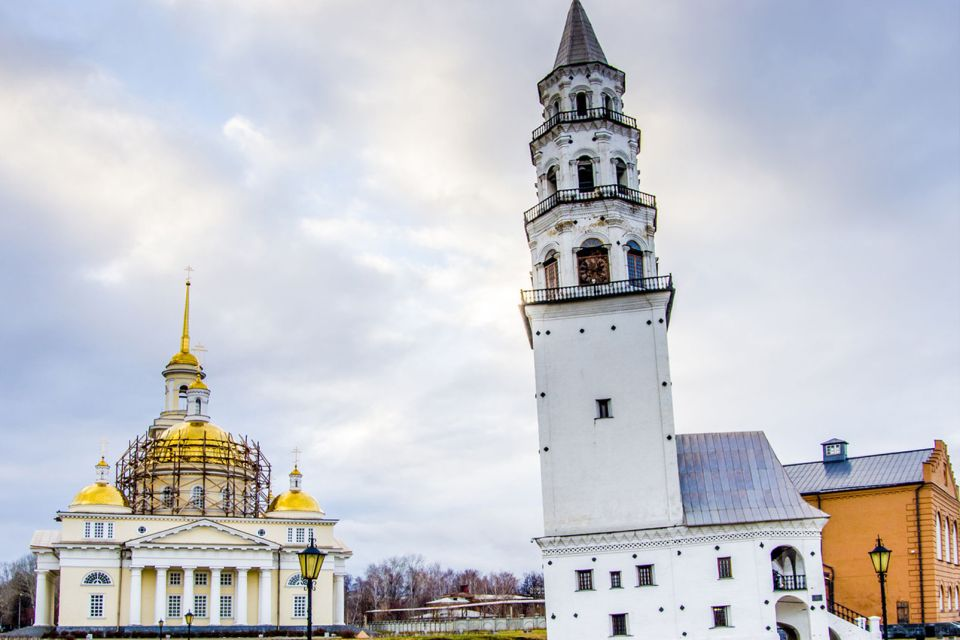 , The Leaning Tower of Nevyansk, Monuments, Oural