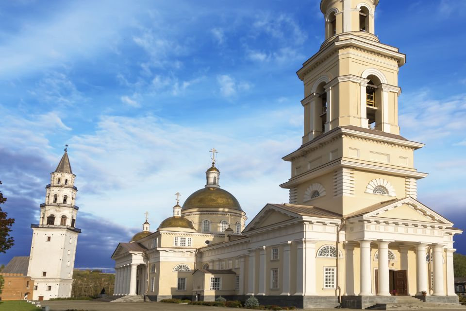 The Leaning Tower of Nevyansk, Monuments, Oural