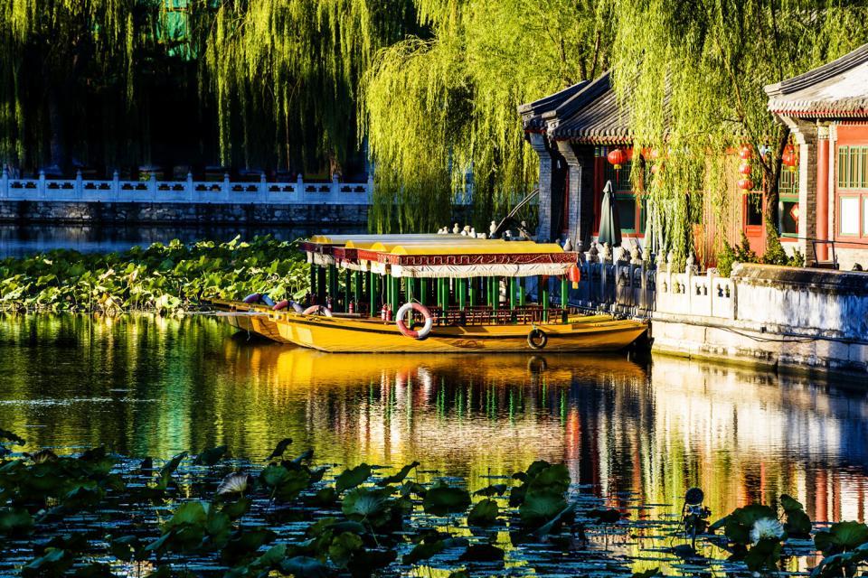 El Parque del mar del Norte (Beihai) , Lugar de descanso , China