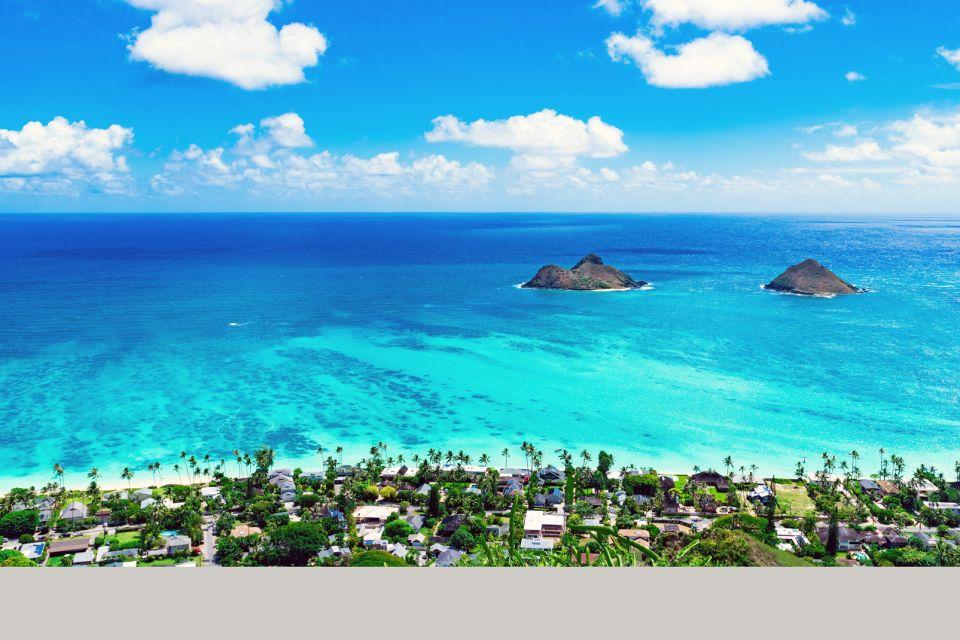 Les îles et les plages, Lanikai, plage, hawaii, amérique, usa, états-unis, oahu