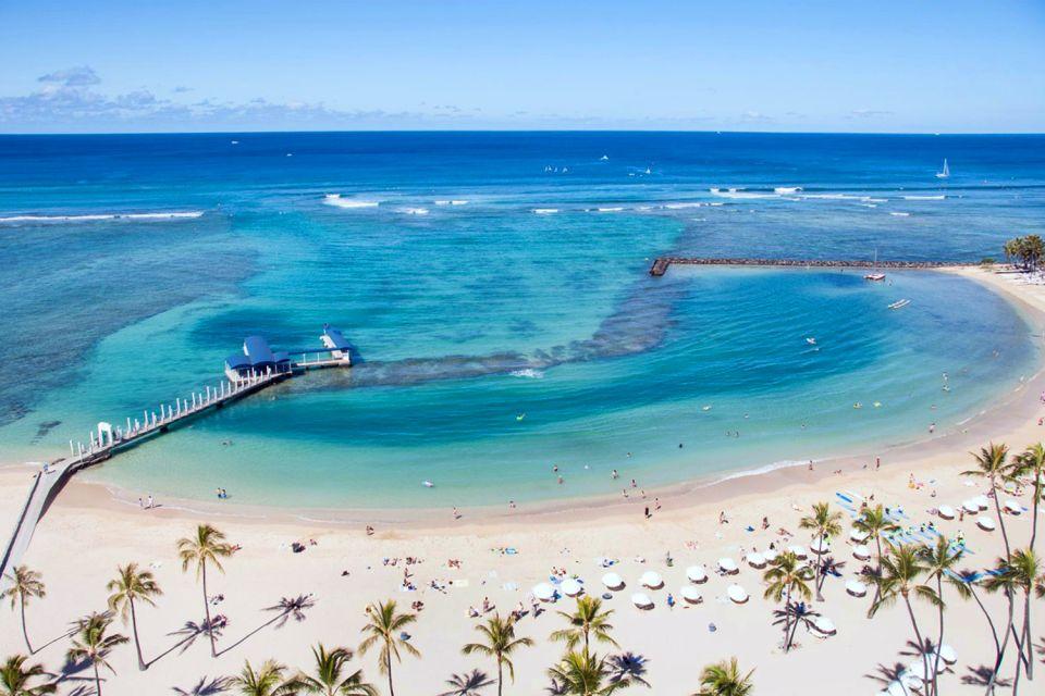 Les îles et les plages, waikiki, honolulu, hawaii, amerique, USA, etats-unis