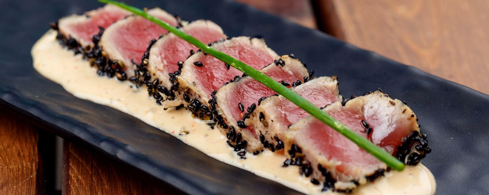 La gastronomie, cuisine, alimentation, gastronomie, hawaï, etats-unis, USA, amérique, thon, ahi, poisson