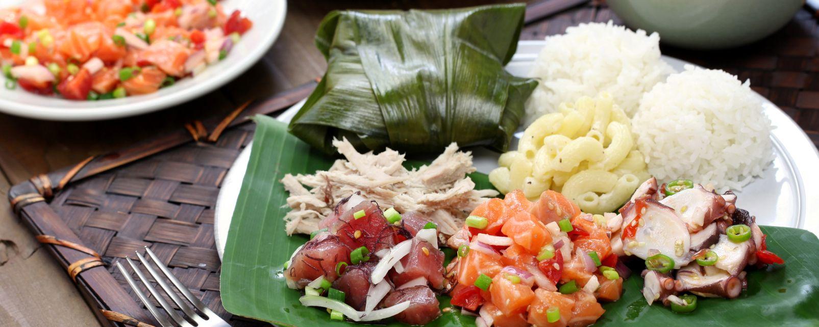 , Las influencias portuguesas, Gastronomía, Hawaï
